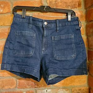 Universal Thread High Rise Midi Jean Shorts 29